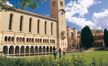 Campus der University of Western Australia.