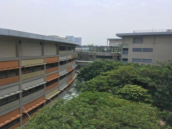 Blick über den Campus