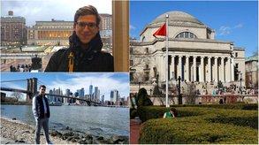 Axel und Yuri haben sich den Traum vom Auslandssemester an der Columbia University realisiert.