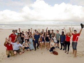 Nie weit zum Strand an der GU Brisbane