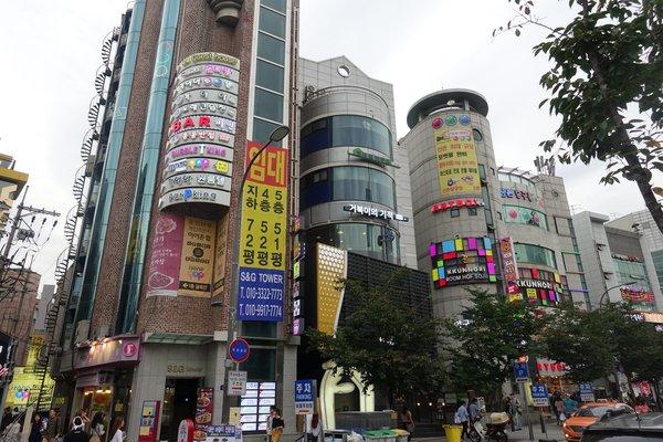 Seoul - Viertel Hongdae