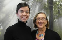 Sammi Carr und Dawn Schmid, California State University, San Marcos