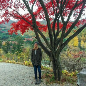 Besonders das Wandern hat Melanie in Seoul genossen.