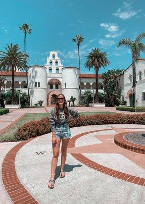 Josie vor Ort in San Diego