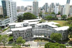 Campus der Curtin University Singapore