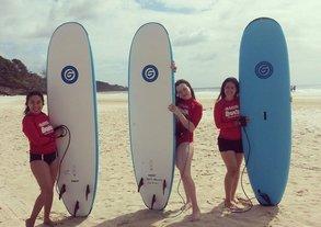 Zwischendrin Surfen - an der QUT in Brisbane bestens möglich