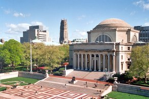 Mitglied in der weltweit hoch angesehenen Ivy League: Die Columbia University.