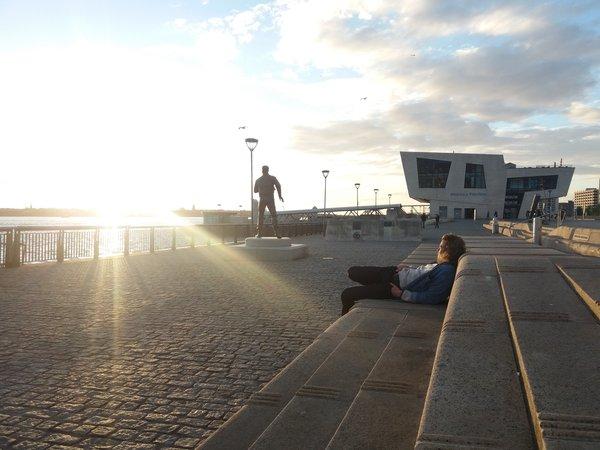 Sunset am Pier Head