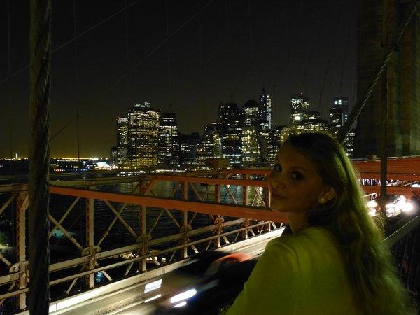 Blick über New York