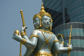 Tradition und Moderne in Bangkok