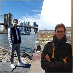 Yuri und Axel erzählen von ihrem Semester in New York City