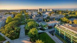 An der University of British Columbia studieren