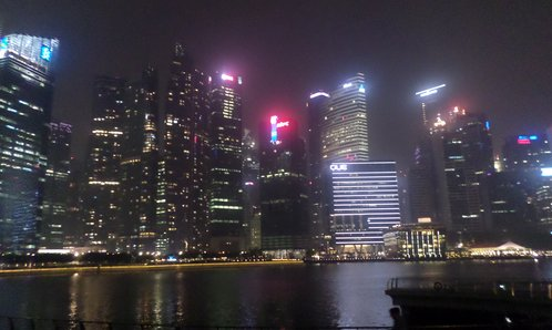 Skyline Singapurs
