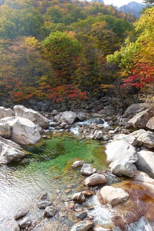 Seoraksan Nationalpark im Oktober