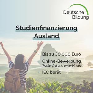 Erfahre mehr über die Studienförderung Ausland